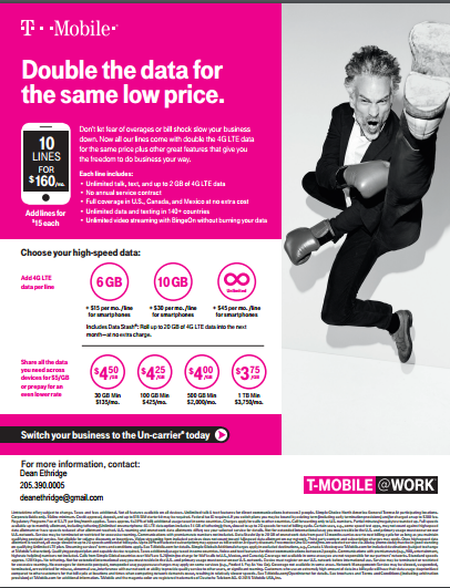 tmobile business rate plans,mobile phone business plans
